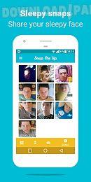 snap me up: selfie alarm clock
