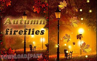 Autumn fireflies
