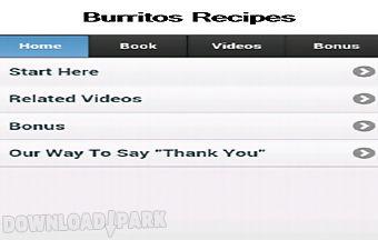 Burritos recipes