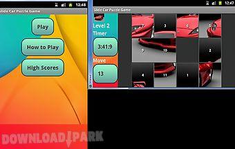 Car slide puzzle game