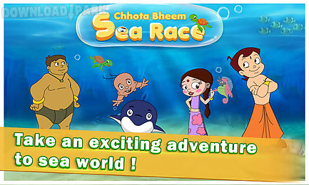 chhota bheem sea race