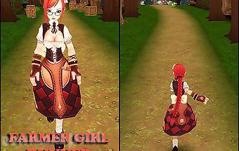 Farmer girl runner