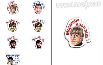 Filmy stickers - chatting