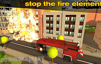 Fire truck: simulator