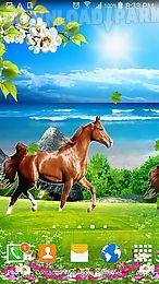 horses by villehugh