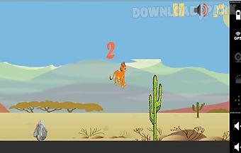 Jumping lion run games