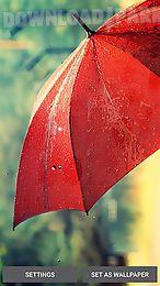 rain by my live wallpaper