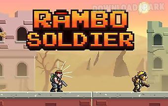 Rambo soldier