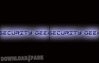 Security geek