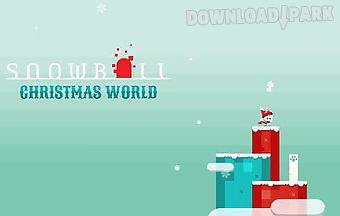 Snowball: christmas world