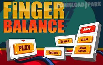 Finger balance free