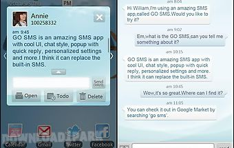 Go sms pro light blue theme