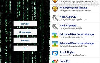 Hack app data