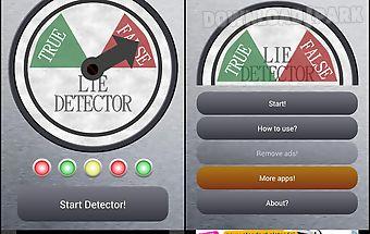 Lie detector prank