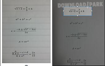 Math hero photo calculator