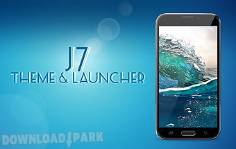J7 theme and launcher