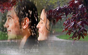 Rain photo frame