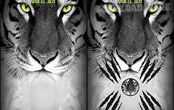 Screen lock sequence tiger