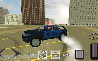 Suv police car simulator