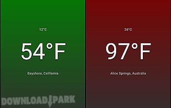 Temperature free