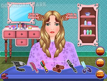 Beauty Hair Salon Makeover Android Game Free Download In Apk