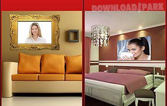 Lovely interior photo frames