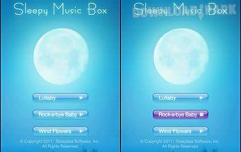 Sleepy music box