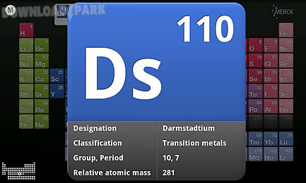 Merck pte hd android app free download in apk the description of merck pte hd the merck periodic table of the elements app provides detailed information state of the art functions and an appealing urtaz Gallery