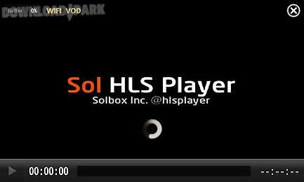 Sol hls player Android Anwendung Kostenlose Herunterladen in Apk