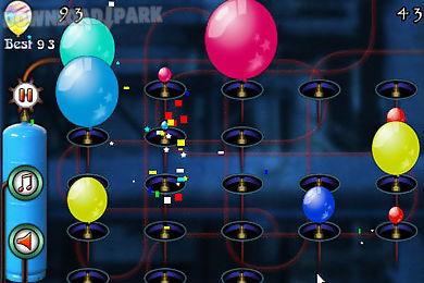 balloon blast lady