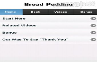 Bread pudding app