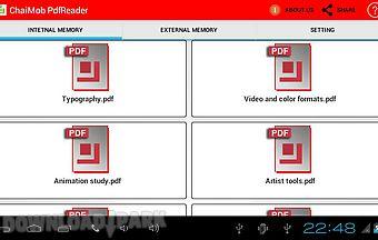 Chai mob pdf reader