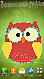 Cute owl android live wallpaper free download in apk the description of cute owl decorate the desktop of your device with these cute and playful owls live wallpapers have bright graphics beautiful animation voltagebd Choice Image