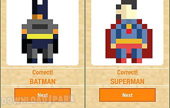 Guess the pixel superhero