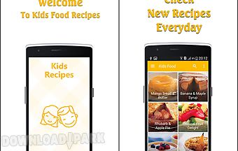Kids recipes for free
