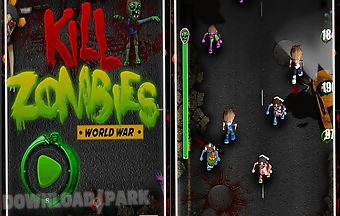 Kill zombie shooting game