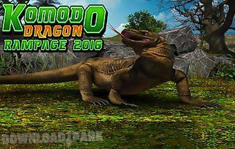 Komodo dragon rampage 2016