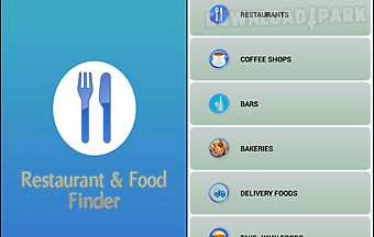 Restaurant and food finder