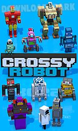 crossy robotmixed skins