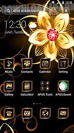 golden-apus launcher theme