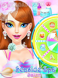 seaside spa salon: girls games
