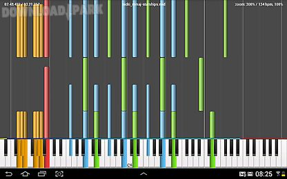 midi melody & digital piano