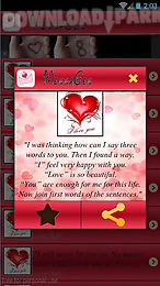 sweet love messages 2016