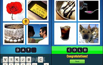 4 pics 1 word new ~ word quiz