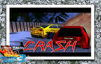 Action racing 3d winter rush