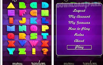 Alphabet app
