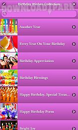 Birthday Wishes Collection Android App Free Download In Apk
