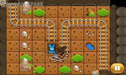 crazy mining car: puzzle game