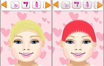 Cute baby hair salon