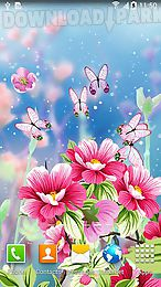 flowers by live wallpapers